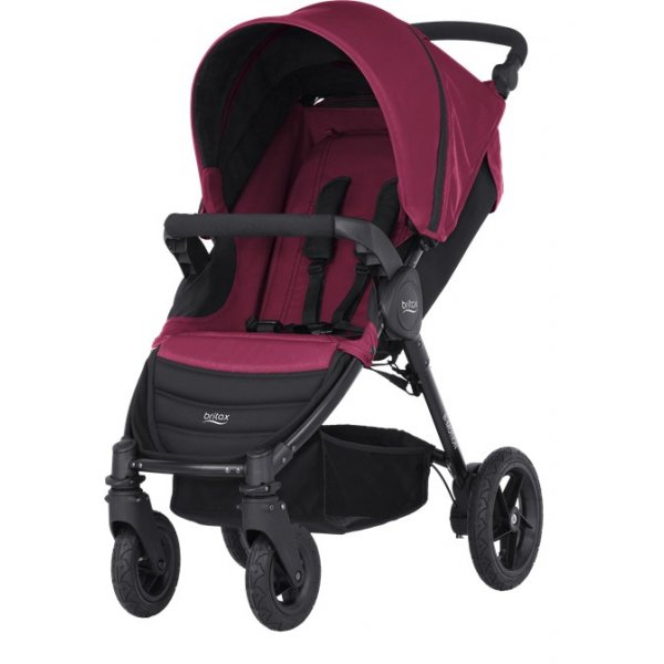 Britax B-Motion 4 kočárek 2019/2020 Wine Red