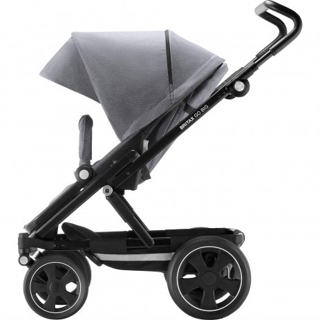 Britax Go Big 2 kočárek 2021 Grey Melange/Black