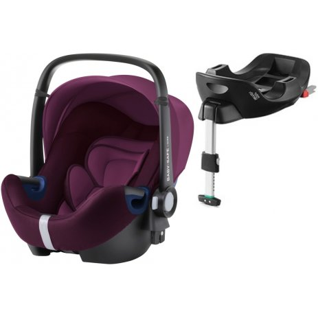 Römer Baby-Safe 2 i-Size Bundle Flex autosedačka 2019 Burgundy Red