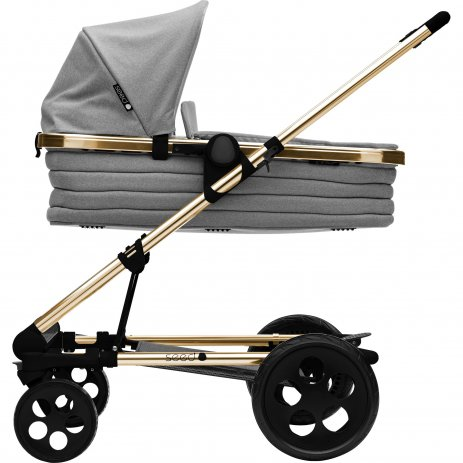 Britax SET Kočárek Seed Papilio Copper Black/Grey Melange