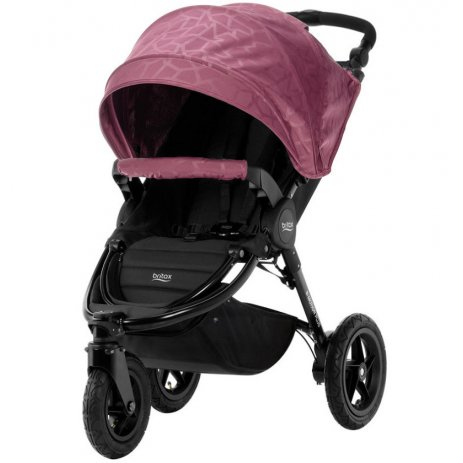 Britax B-Motion 3 PLUS + korba 2019 Geometric Wine Red