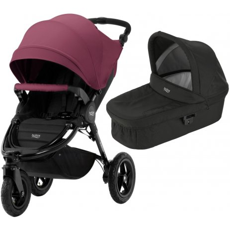 Britax B-Motion 3 PLUS + korba 2019 Wine Red
