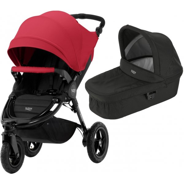 Britax B-Motion 3 PLUS + korba 2019 Flame Red
