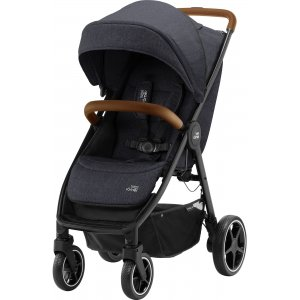 Britax Kočárek B-Agile R 2021 Black Shadow/Brown